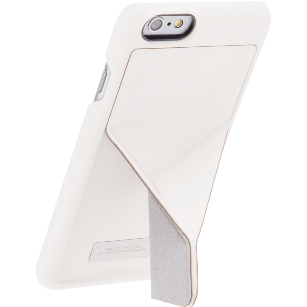 DRACO Design Tigris Polycarbonate Hard Shell Stand iPhone 6/6s Case | White TI60LP4-WH