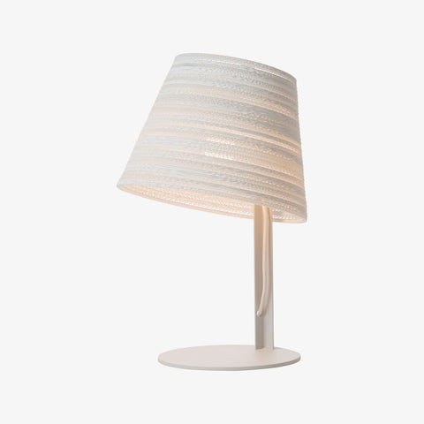 Graypants Scraplight Tilt Table Lamp | White