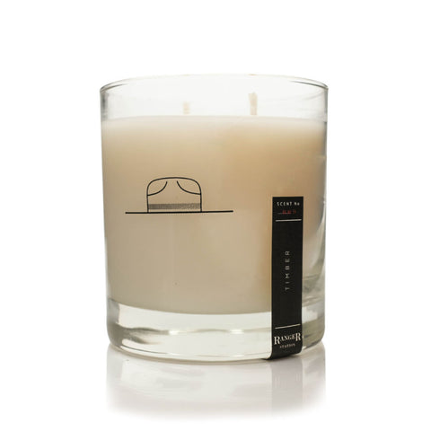 Ranger Station Soy Based Wax Candle | Timber