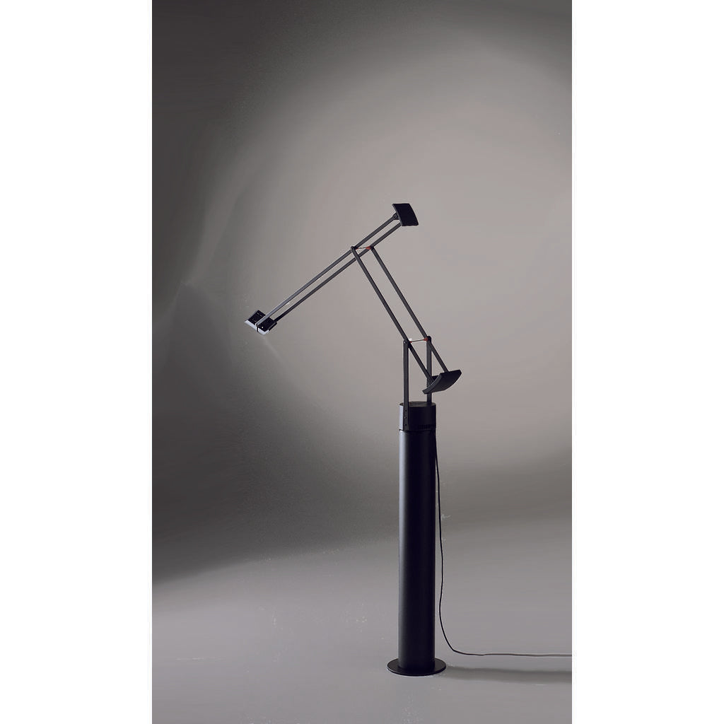 Artemide Tizio Floor Lamp In Black Sportique