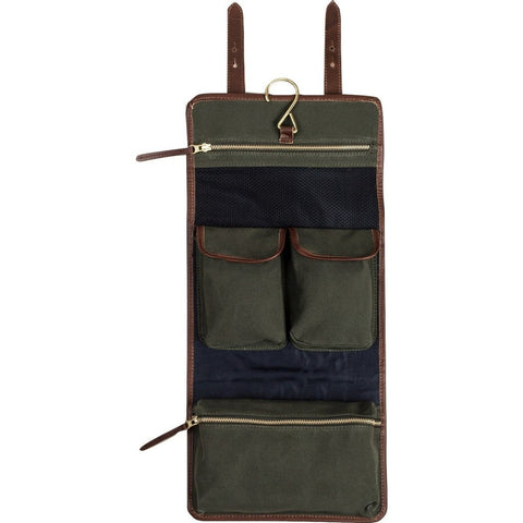 United By Blue Toiletry Roll Up Bag | Leather TOILETRY-LTHR