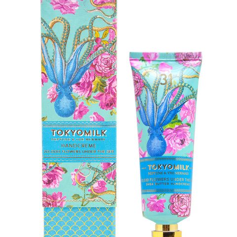 TokyoMilk Neptune Shea Butter Hand Creme No. 31  | 20,000 Flowers Under the Sea