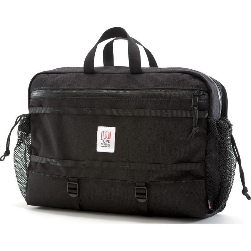 Topo Designs Mountain Messenger Bag | Black