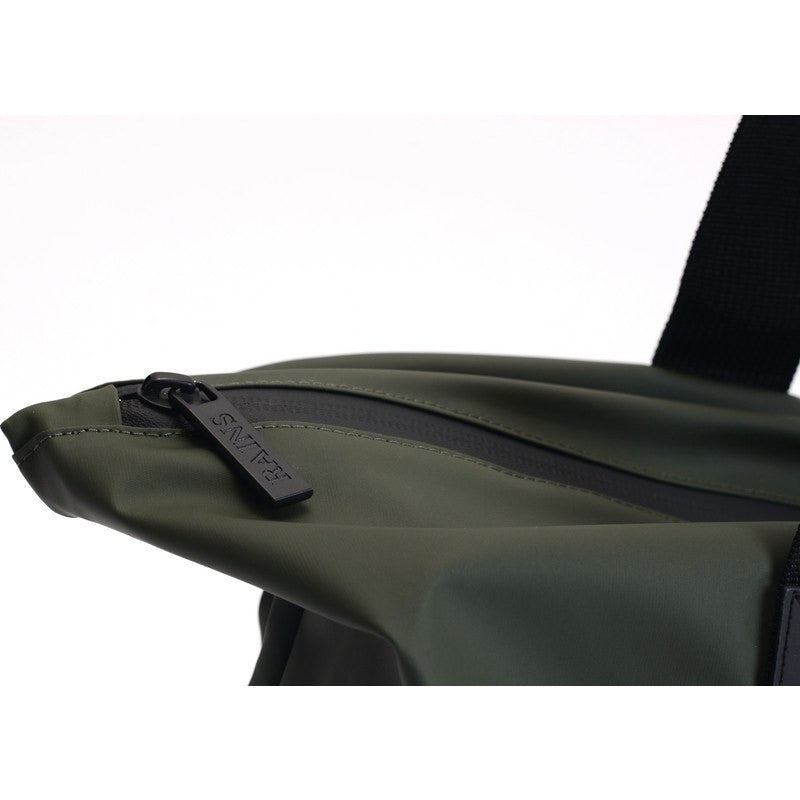 RAINS Waterproof Tote Bag Rush | Green