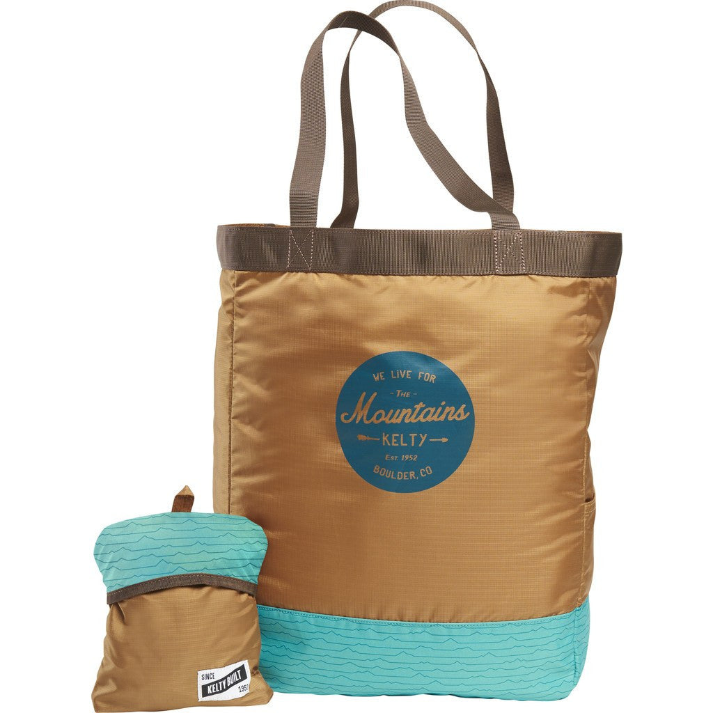 Kelty Totes Tote Bag | Brown/Teal 27668417CYLB