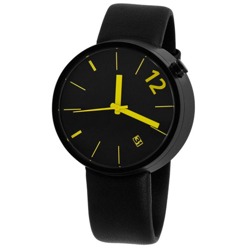 Projects Watches Denis Guidone Towards Watch Angles to Body | Black/Yellow