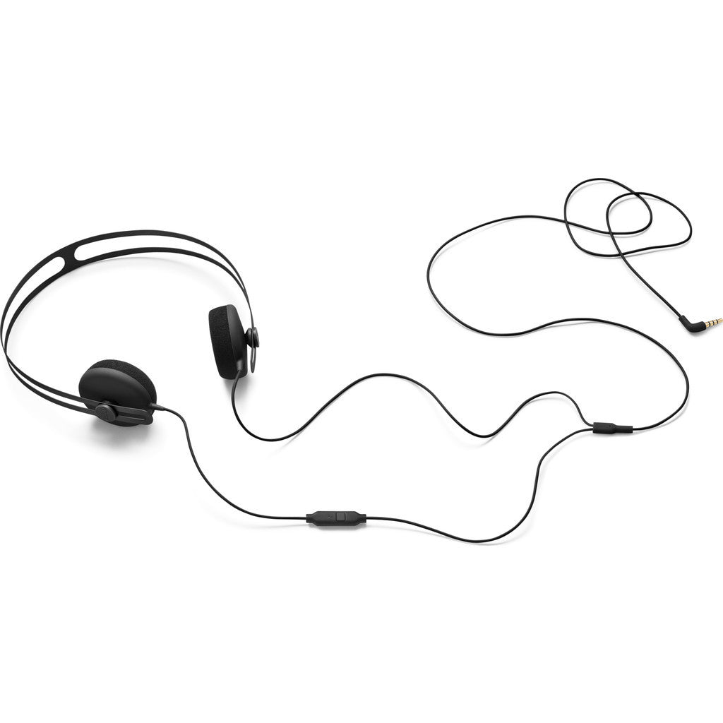 AIAIAI Tracks Headphones with One Button Mic | Black