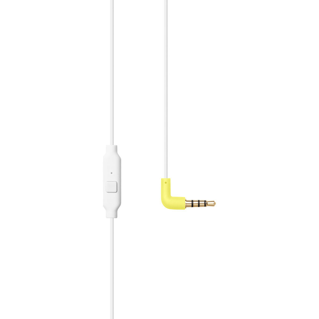 AIAIAI Tracks Headphones with One Button Mic | White