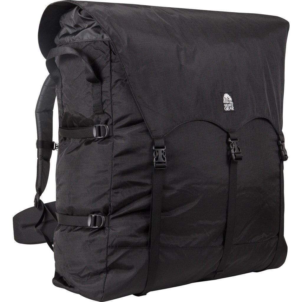 Granite Gear Traditional 4 Portage Pack | Black/Chromium 49515-0001