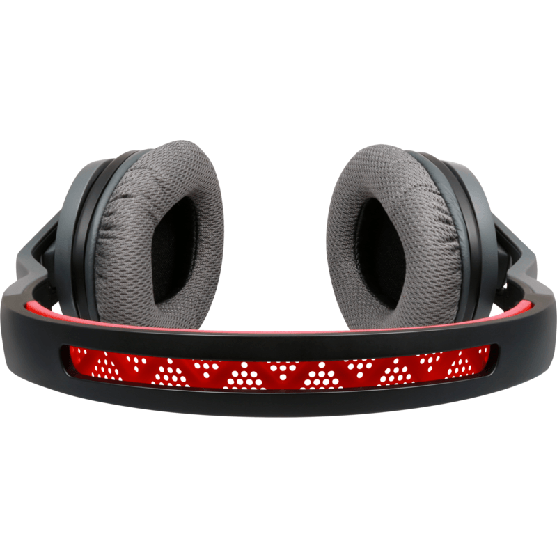 Soul Transform Active Performance On-Ear Headphones | Fire Red