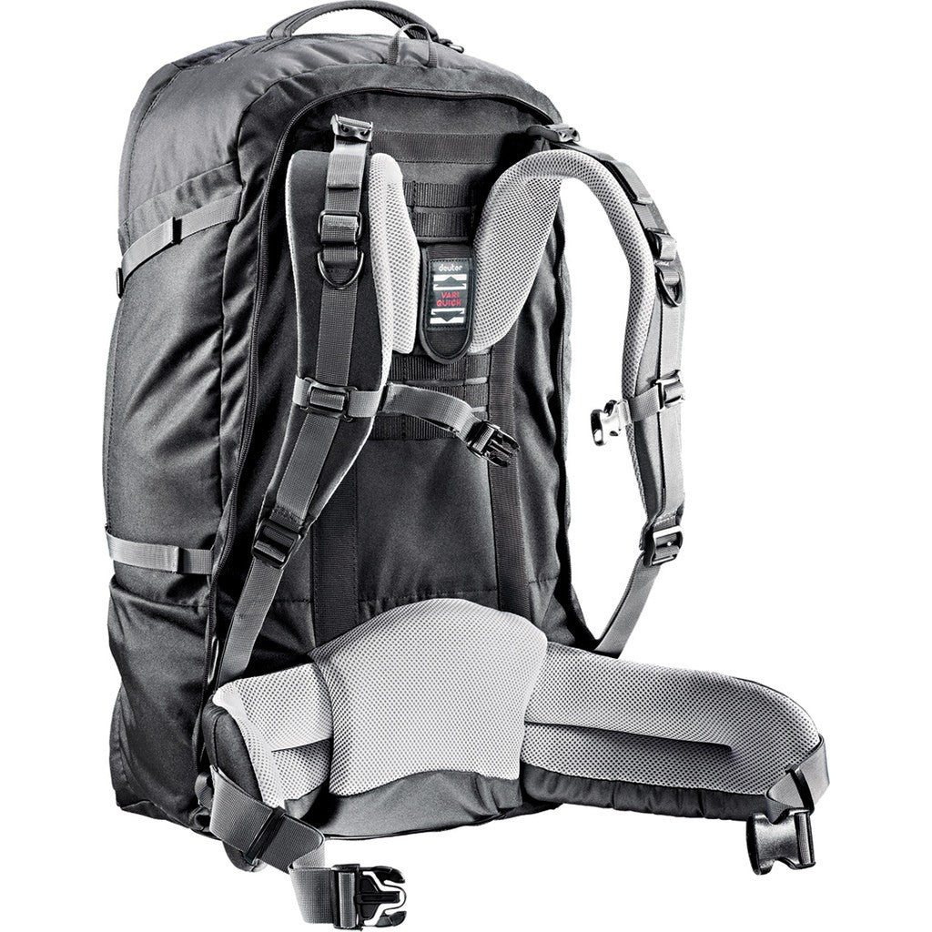 Deuter Transit 65L Travel Backpack | Black/Anthracite 35219 75200