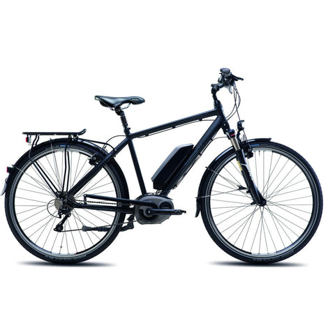 Steppenwolf Transterra M.E1 Electric Bicycle | Matte Black- SWE025-5001H-1