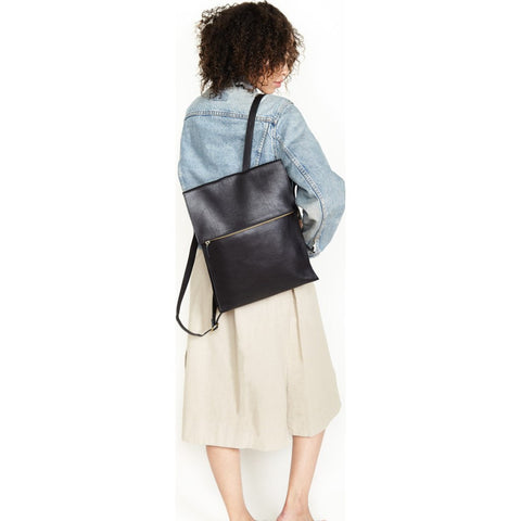 Minor History Traveler Square Backpack | Black TVR_315_C