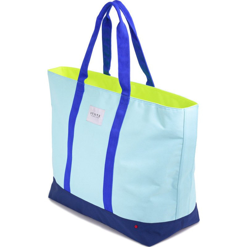 STATE Bags Berkeley Weekender Tote | Light Blue Multi