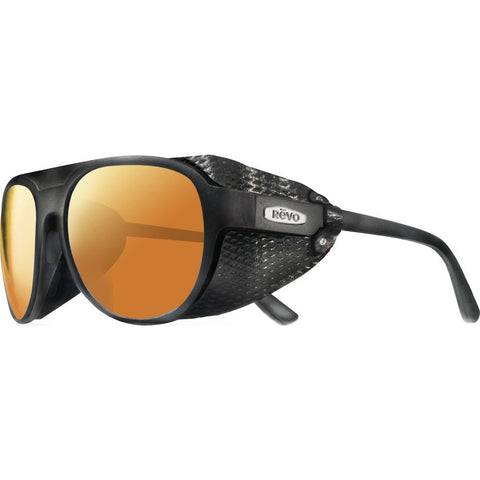 Revo Eyewear Traverse Black Sunglasses | Solar Orange RE 1036 01 OG