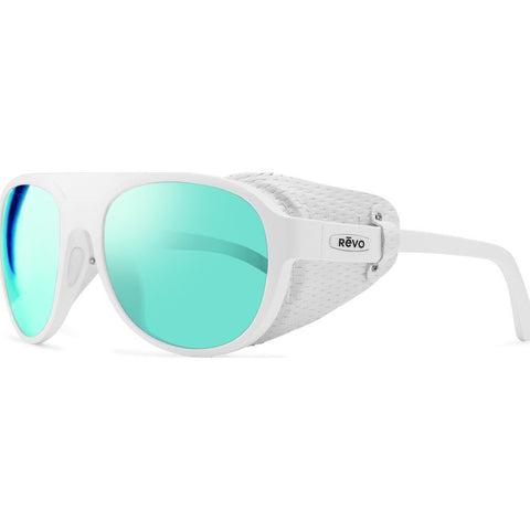 Revo Eyewear Traverse White Sunglasses | Blue Water RE 1036 09 BL