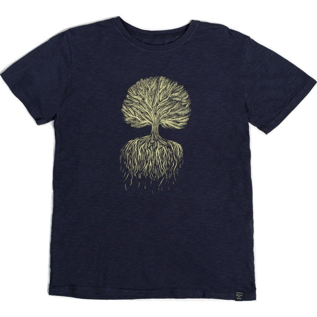 United By Blue Tree Roots T-Shirt | Navy M 61M-1TR-NV