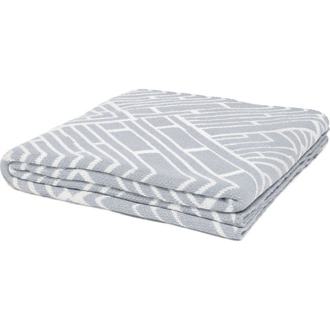 Stacy Garcia Trellis Eco Throw | Alum/Milk- SG-TR01