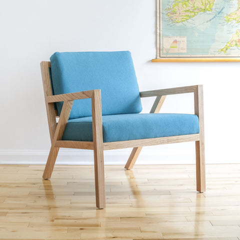 Gus* Modern Truss Lounge Chair | Muskoka Surf Ash ECCHTRUS-mu-an