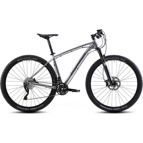 Steppenwolf Tundra LTD Hardtail MTB Bicycle | Chrome/Dark Blue- SWM135-4201