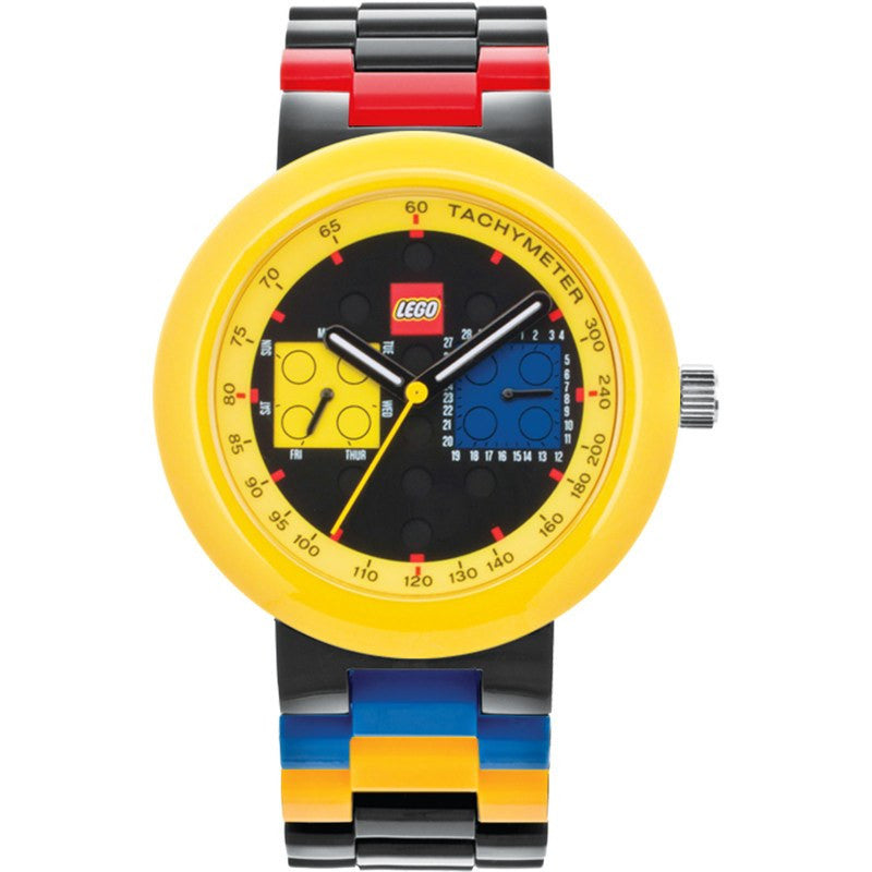 Lego Two by Two Adult Watch | Black/Yellow