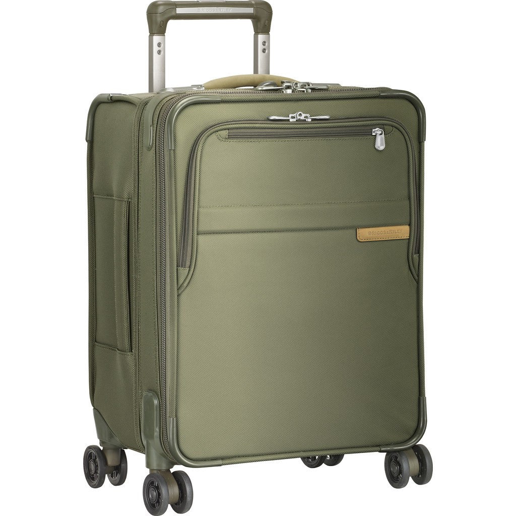 Briggs & Riley Commuter Expandable Spinner Suitcase | Olive U119CXSP