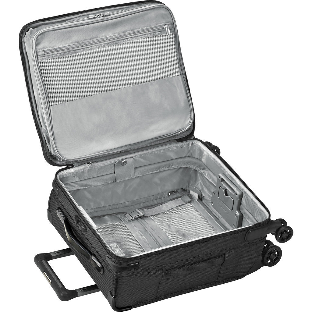 Briggs & Riley International Carry-On Expandable Wide-body Spinner Suitcase | Black U121CXSPW