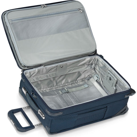 Briggs & Riley Domestic Carry-On Expandable Upright Suitcase | Navy