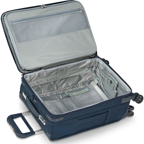 Briggs & Riley Domestic Carry-On Expandable Spinner Suitcase  | Navy
