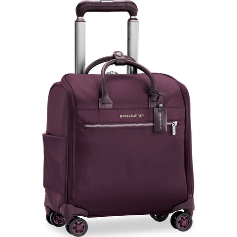 Briggs & Riley Baseline LTD Medium Expandable Spinner Suitcase | Plum
