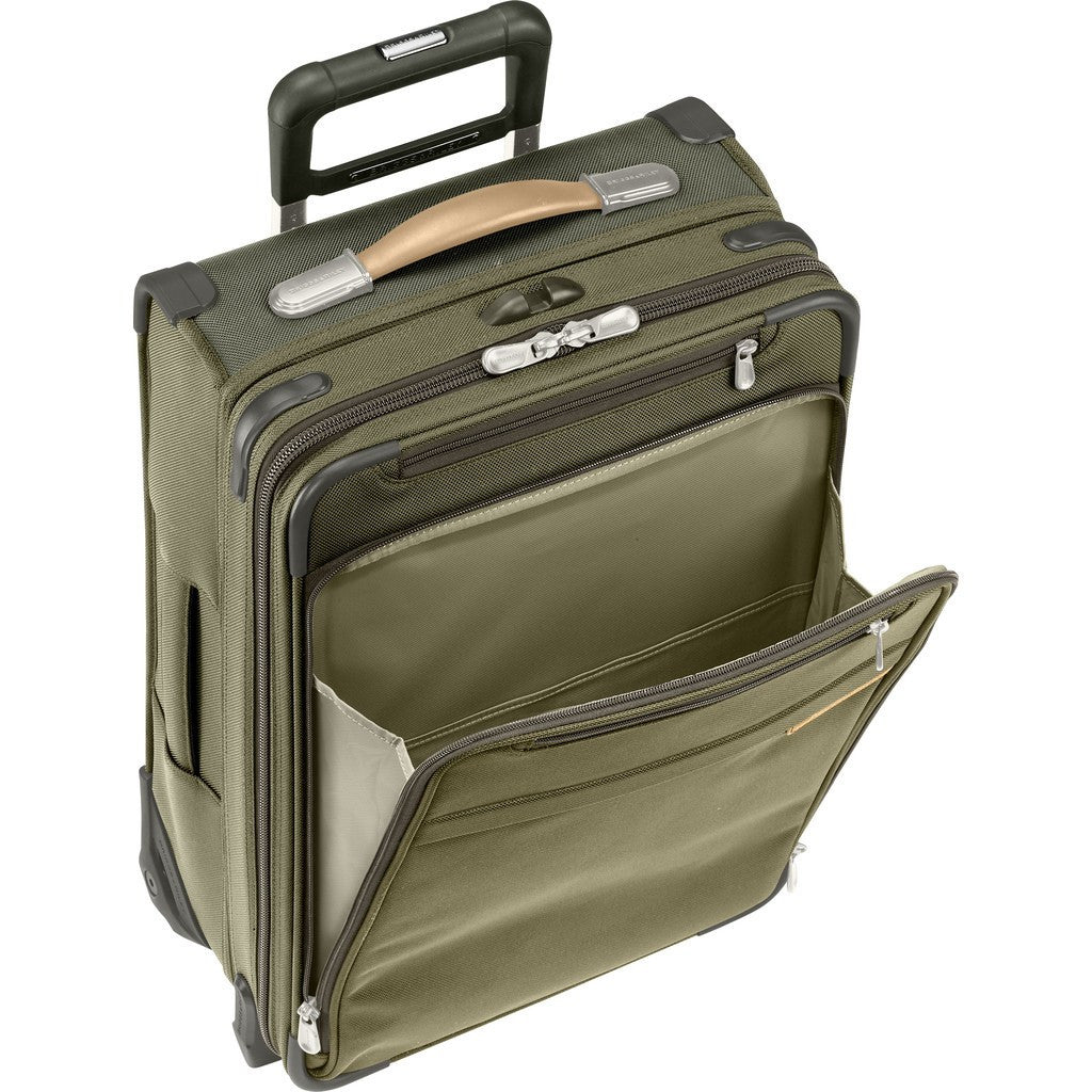 Briggs & Riley Medium Expandable Upright Suitcase | Olive U125CX