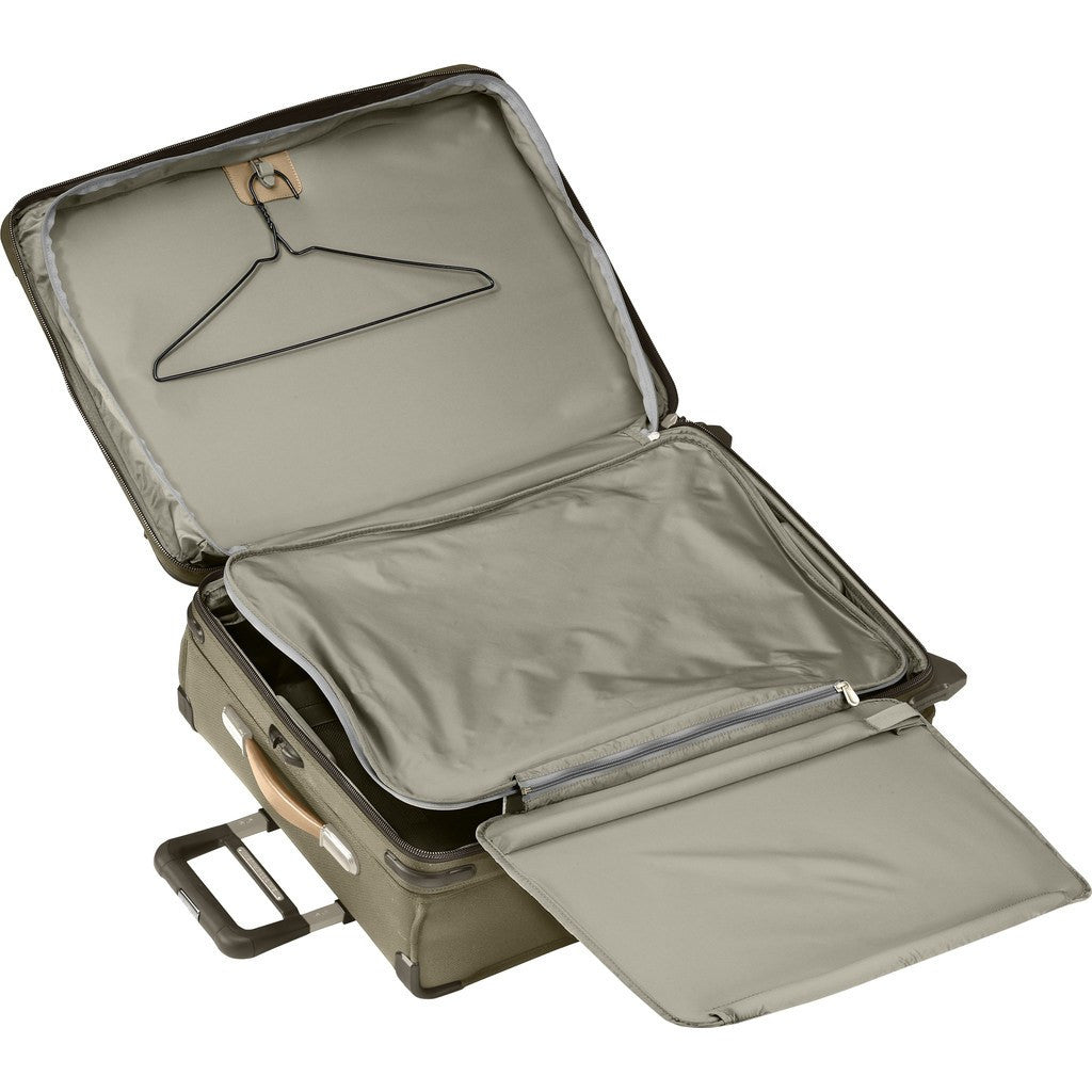 Briggs & Riley Medium Expandable Upright Suitcase | Olive