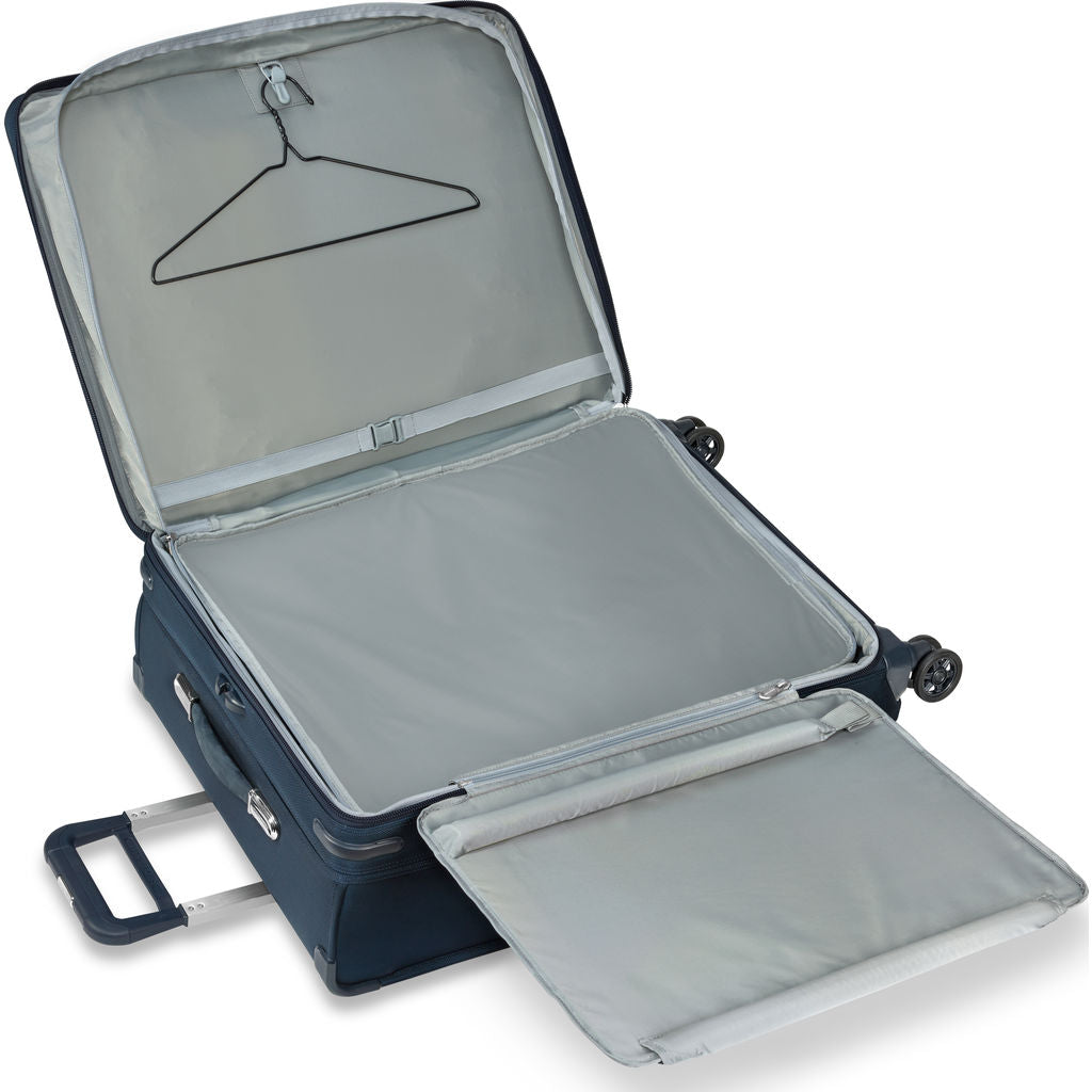 Briggs & Riley Transcend Large Expandable Spinner Suitcase | Navy