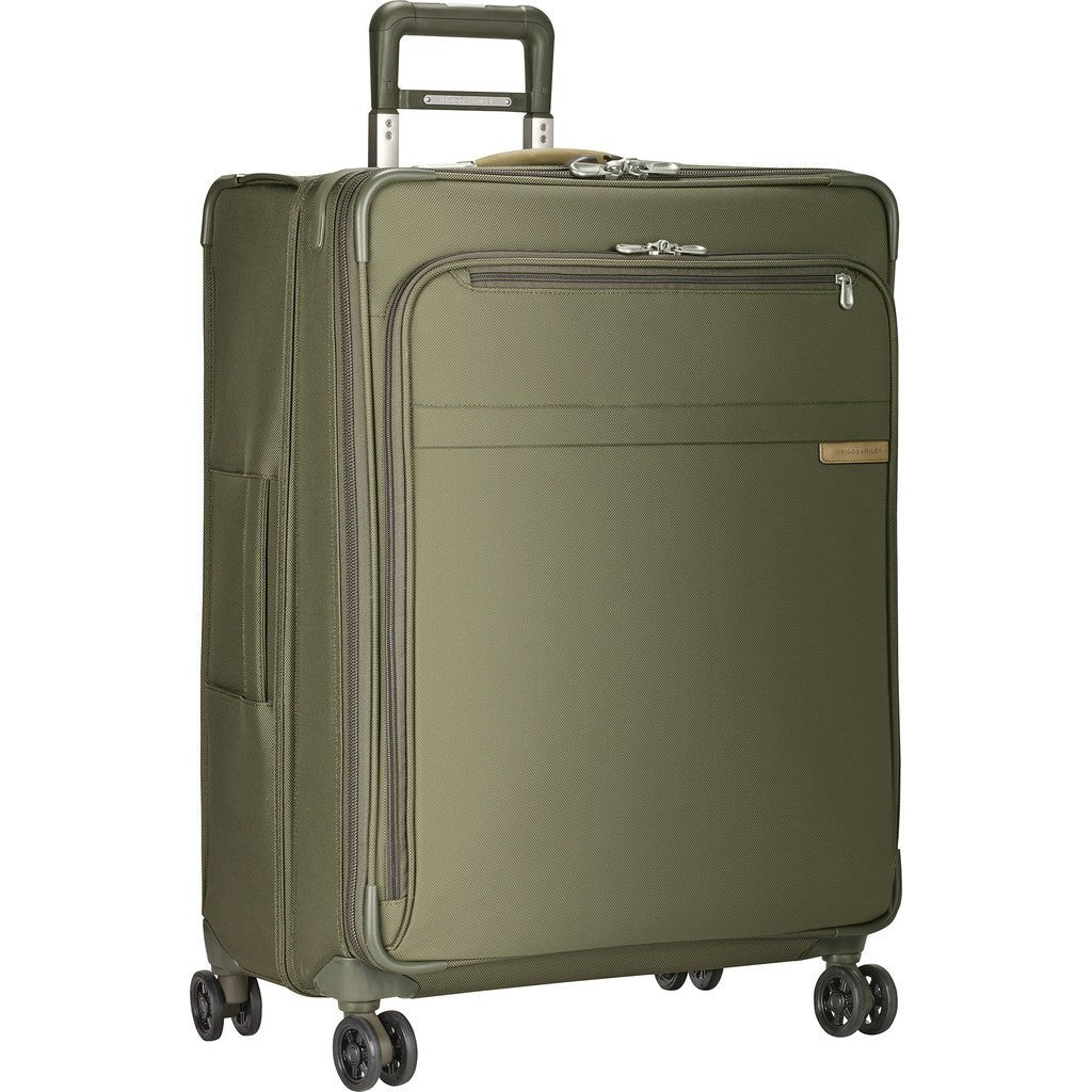 Briggs & Riley Large Expandable Spinner Suitcase | Olive U128CXSP