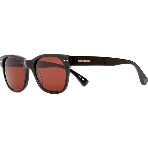 Vestal Unions Sunglasses | Black/Rosegold/Brown Polazrized VVUN012