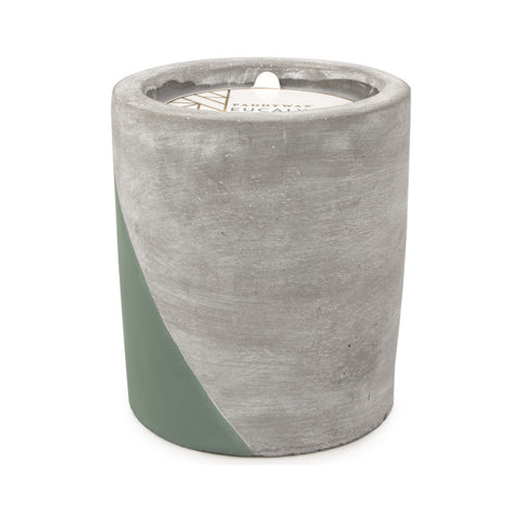 Paddywax Urban Large Candle in Concrete Vessel | Eucalyptus + Santal UR12