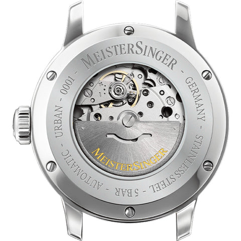 MeisterSinger Urban Day Date Watch - Sand Gray