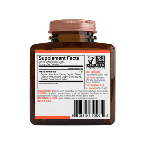 Well Told Health Antioxidant Booster | 2 oz