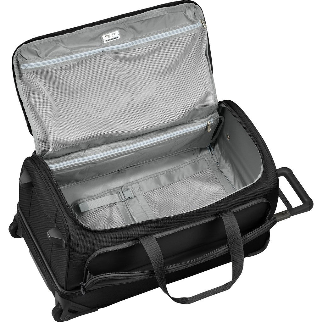 Briggs & Riley Medium Upright Suitcase Duffle | Black