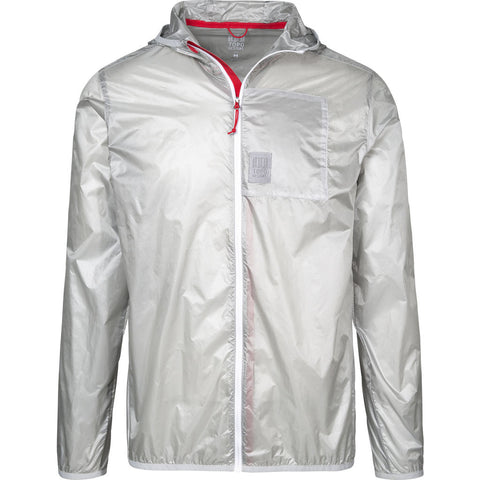 Topo Designs Ultralight Jacket | Silver Small