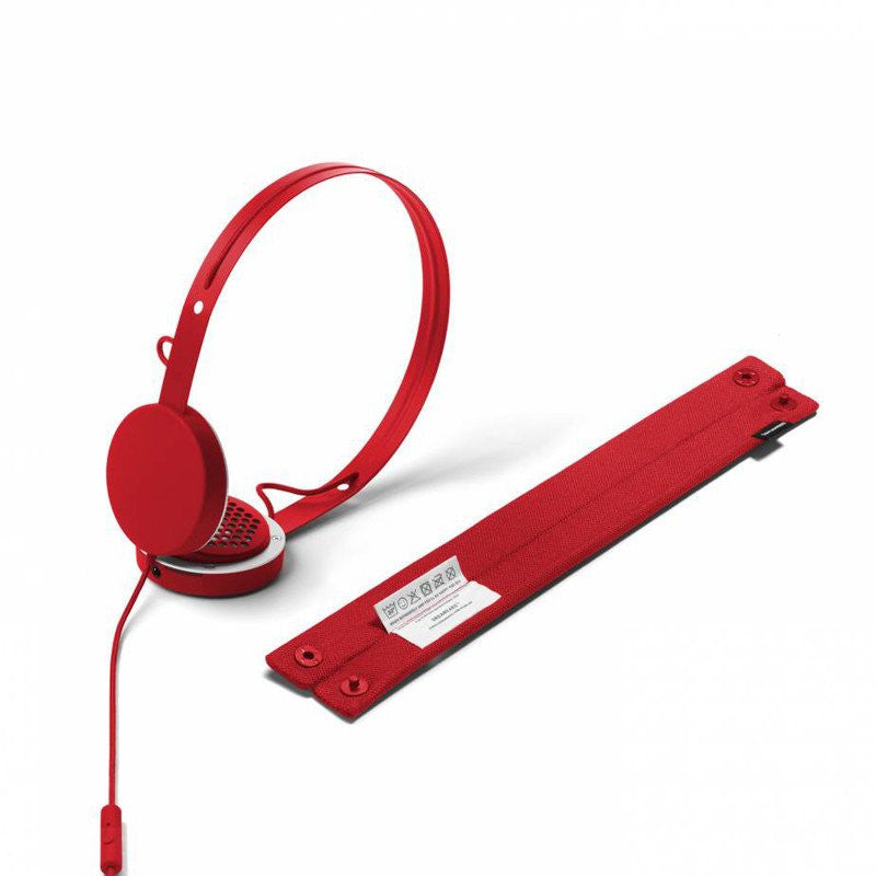 UrbanEars Humlan On-Ear Headphones | Tomato