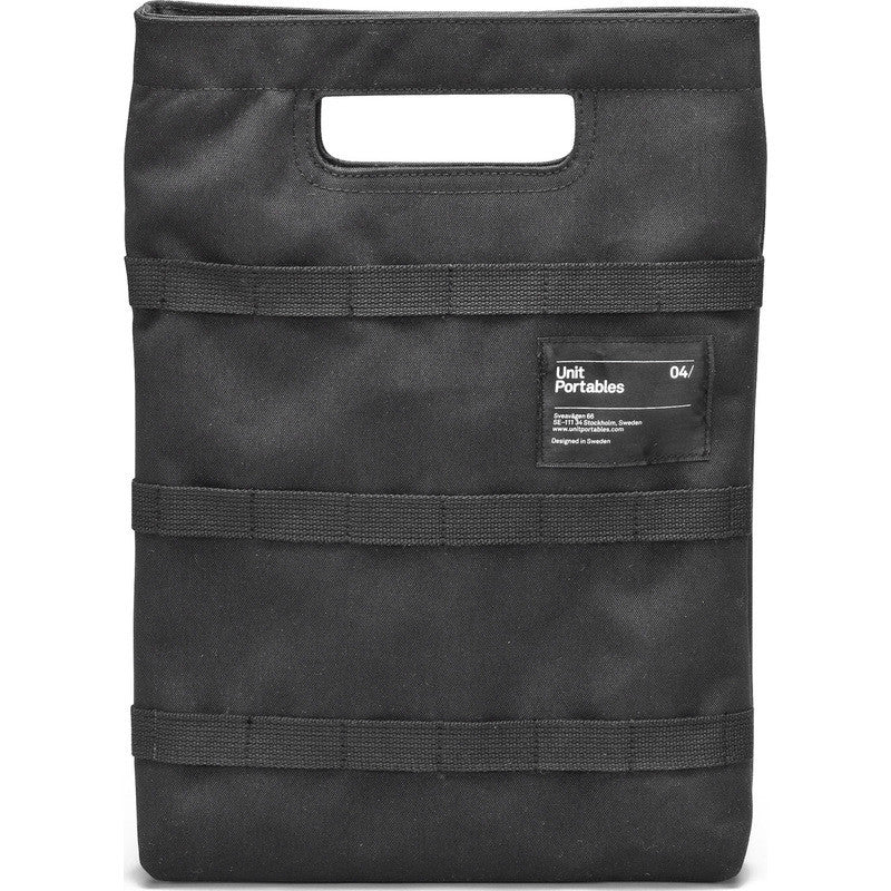 Unit Portables Unit 04/ Tablet Bag |Black