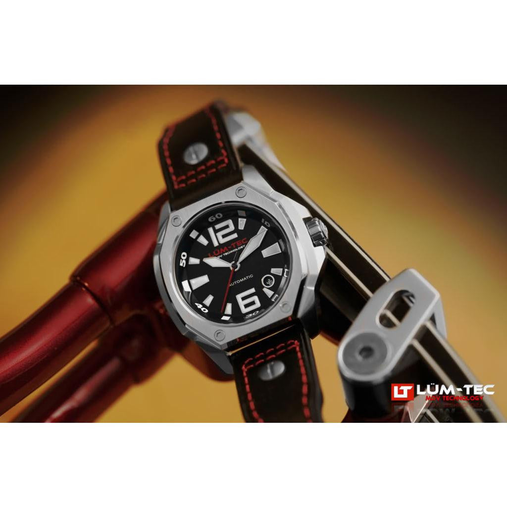 Lum-Tec V1 Red Limited Edition Watch | Leather Strap
