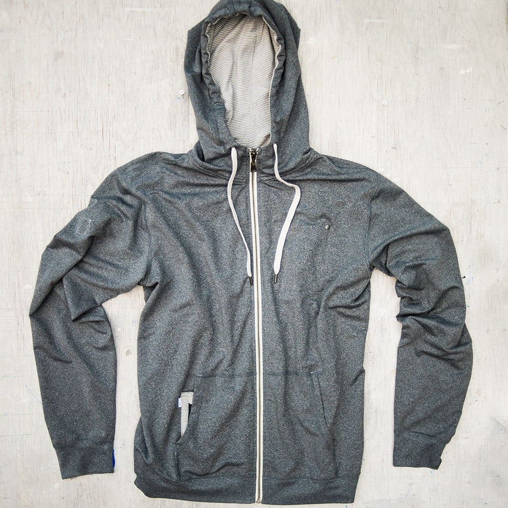 Vuori Movement Hoodie | Heather Grey V201