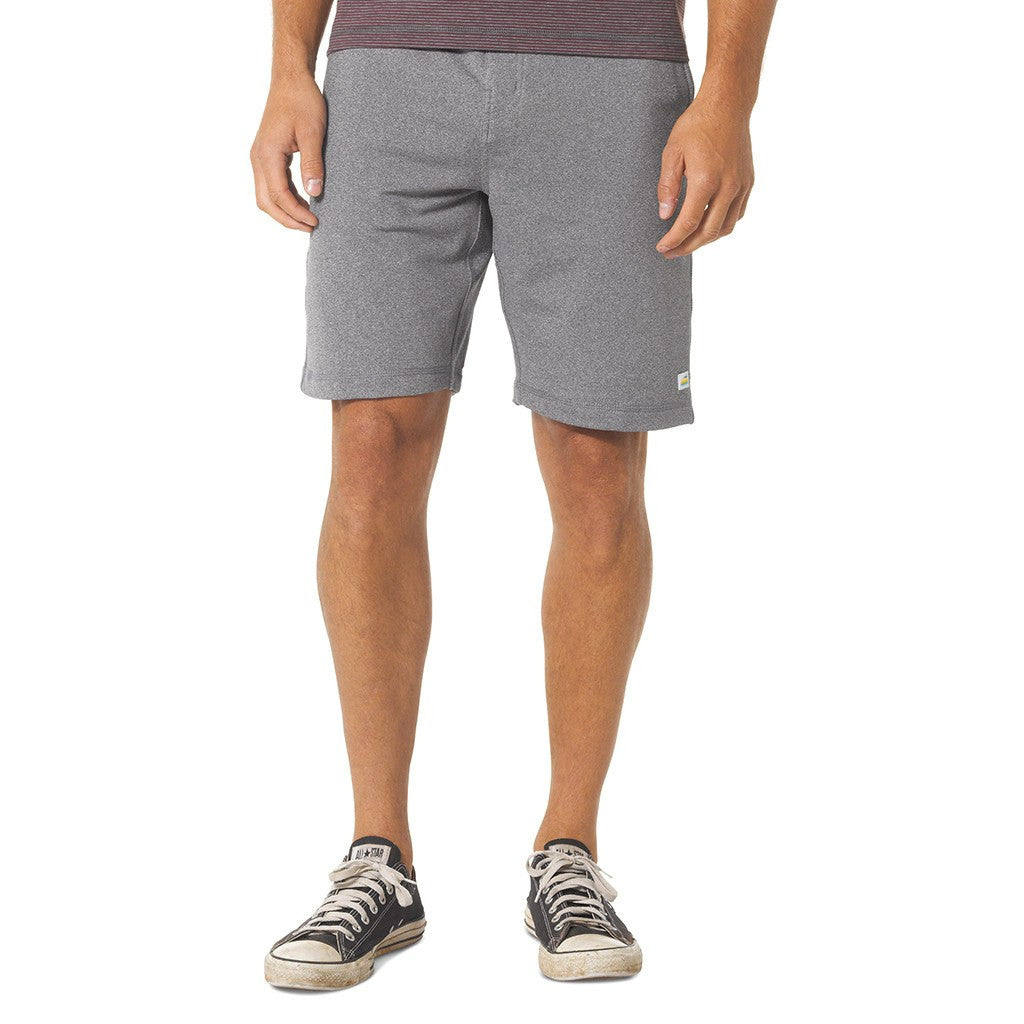 Vuori Cross Trainer Shorts | Heather Grey V305