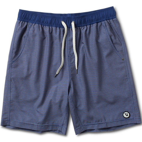 Vuori Kore Shorts | Navy Charcoal Stripe V313