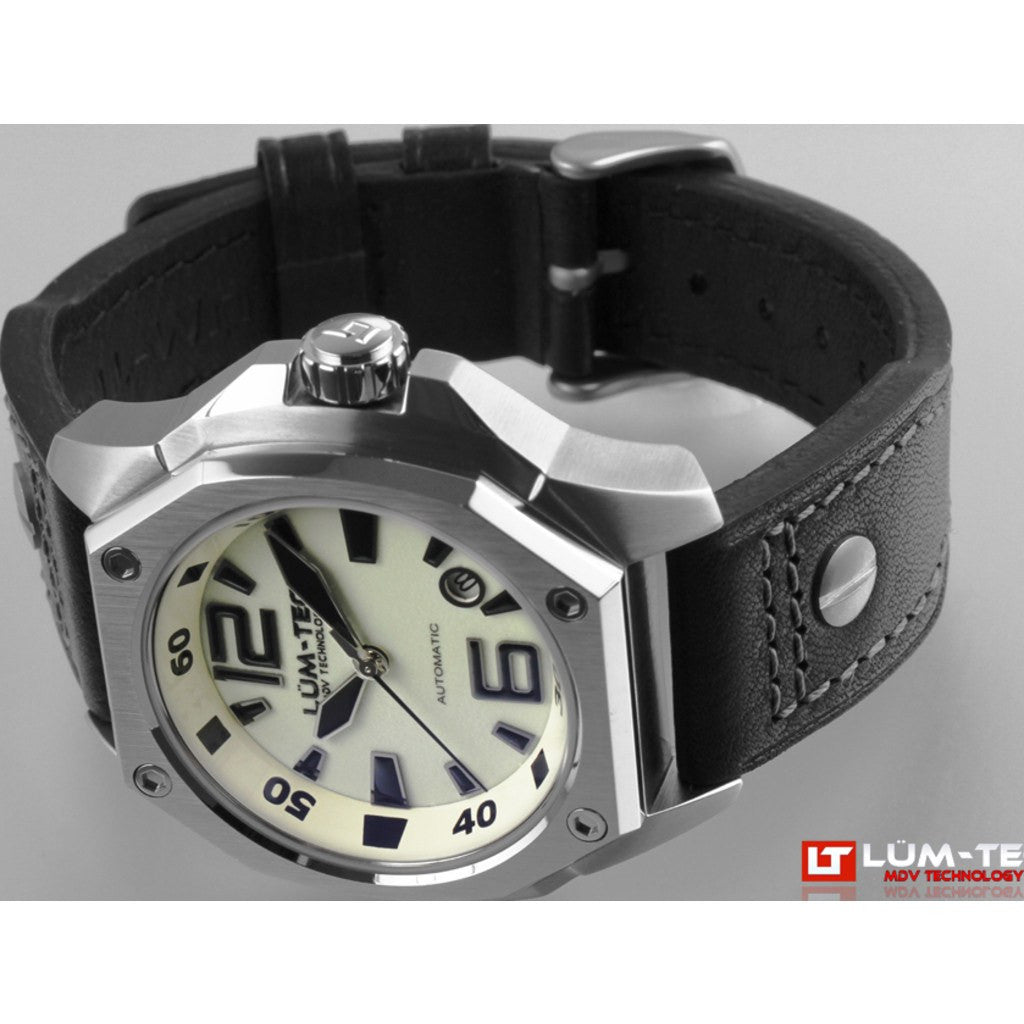 Lum-Tec V5 Watch | Leather Strap