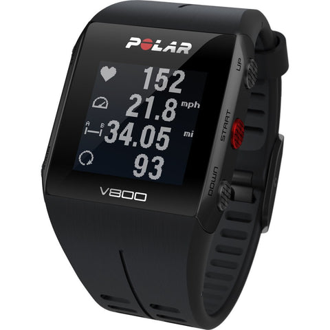 Polar V800 HR GPS Sport Tracking Watch | Black 90060768