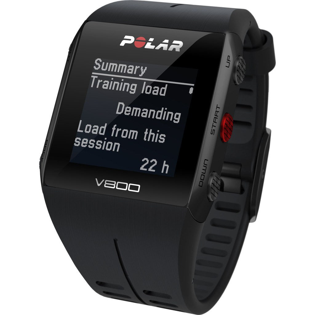 Polar V800 GPS Sport Tracking Watch HR Cycling Bundle | Black