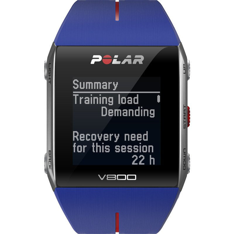 Polar V800 GPS Sport Tracking Watch HR | Blue